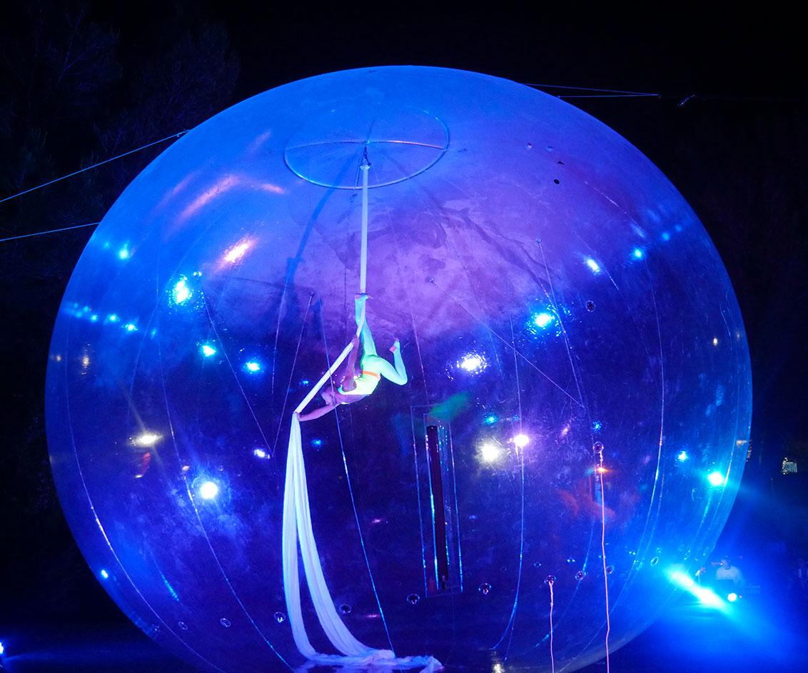 Atmo2sphere - Eklabul - Bulle géante de nuit